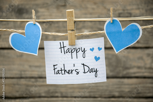 fathers day greeting card or background