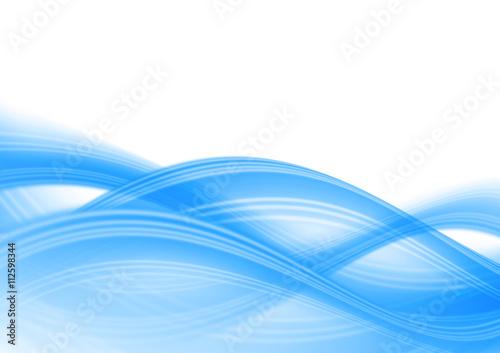 Fotobehang Fractal waves 抽象的な背景 波