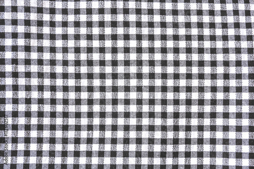 Black And White Checkered Tablecloth Texture