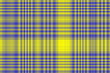 Illustration of yellow and dark blue checkered pattern