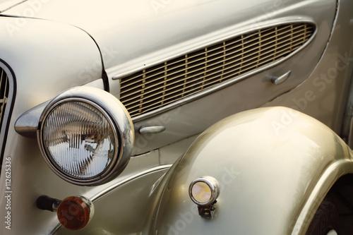 In de dag Vintage cars Beautiful vintage retro car