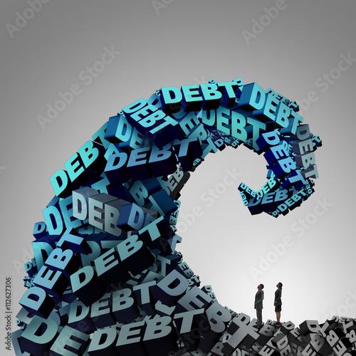 Fotografía  Debt Pressure