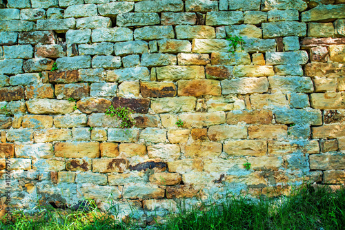 mata magnetyczna Mittelalterliche Mauer