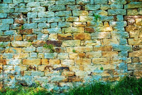fototapeta na lodówkę Mittelalterliche Mauer