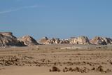 Die Weiße Wüste bei Farafra in der Sahara von Ägypten