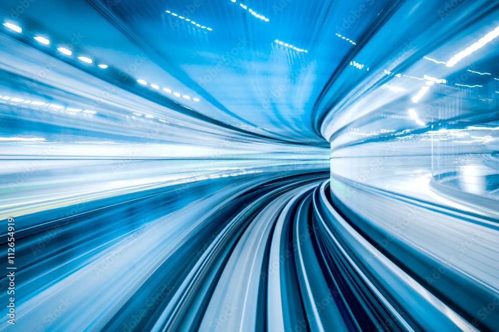 Fototapeta Übertragung von Information über ein Datenkabel