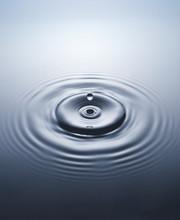 Close Up Of Water Drop
