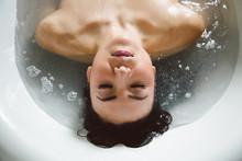 Portrait Of Ellen In Bath