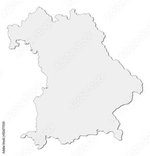 Map Bavaria Germany Buy This Stock Vector And Explore Similar