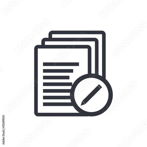 Files Edit Icon, Files Edit Eps10, Files Edit Vector, Files Edit Eps, Files Edit Fototapet