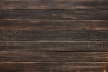 Brown Natural Painted Wood Texture And Background.