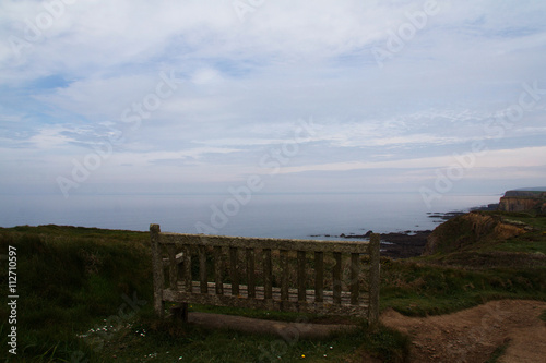 Photo  View from the coastal path between Widemouth Bay and Bude