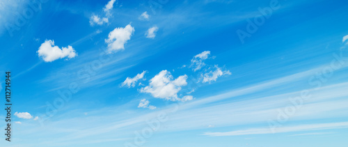 Obraz soft clouds, blue sky - fototapety do salonu