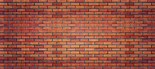 Red Brick Wall Texture For Bac...