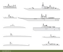 Vector Illustration. Military ...