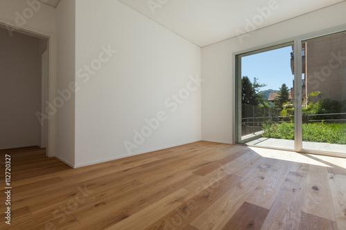 Obraz Interior, room with parquet floor - fototapety do salonu