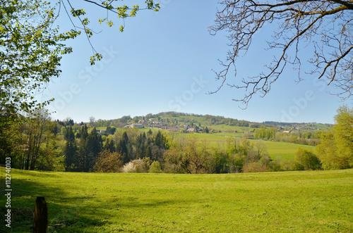 Fotografie, Obraz  Campagne Dullinoise (Savoie)