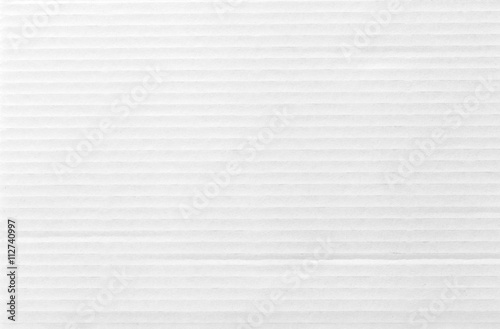 Fotografía White cardboard texture