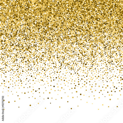 gold glitter shine texture on a black background golden explosion