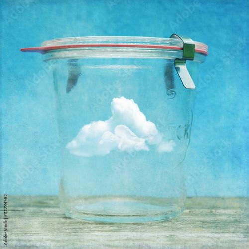 Jar of clouds