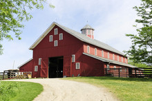 Trail To The Big, Red Barn