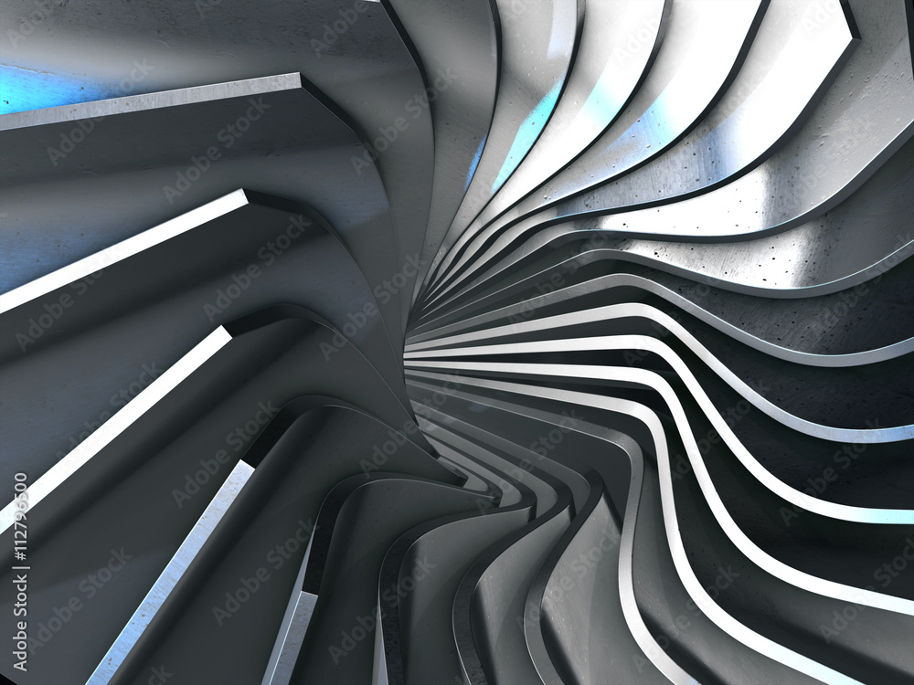 Fototapety, obrazy: Abstract 3d rendering of gold surface.3d rendering.