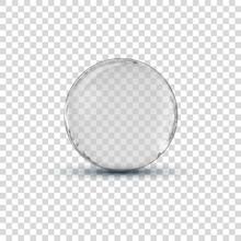 Big White Transparent Glass Sp...