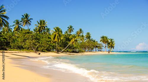 Foto-Kissen - Traumurlaub an einem einsamen Strand in der Karibik :) (von doris oberfrank-list)