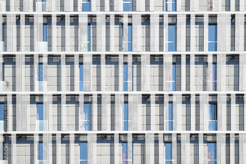 Modern office building facade. Architecture background.
