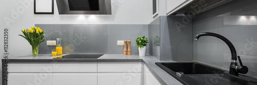 Fotografia  Panorama of kitchen countertops