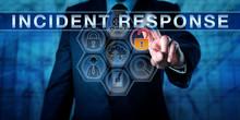 Incident Coordinator Pressing INCIDENT RESPONSE