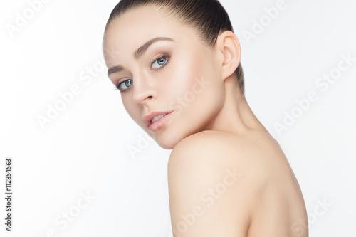 Fotografía  Beautiful Girl face. Perfect skin