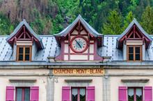 Détail De La Gare Du Montenvers à Chamonix