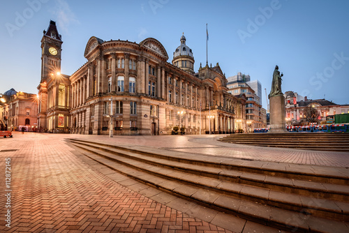 Photo Birmingham Town Hall ,England