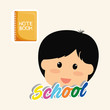 Education design. school icon. isolated illustration , vector