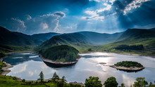 Sun Rays On Haweswater, The La...
