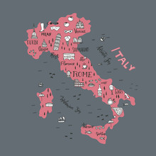 Italian Map