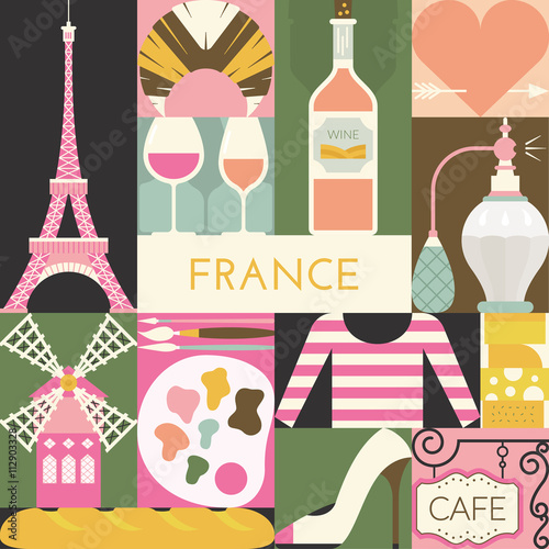 Photo  French Symbols