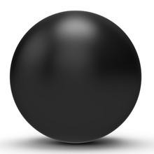 3d Black Sphere