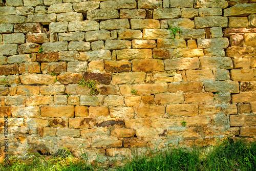 obraz lub plakat Mittelalterliche Mauer