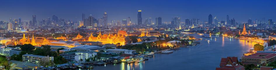 Panoramski pogled na Bangkok