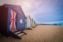 Brighton Beach Bathing Boxes, ...