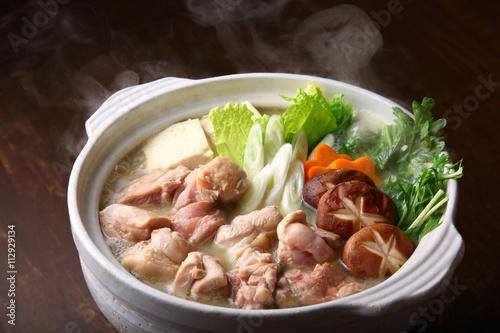 Fotografie, Obraz  鶏鍋