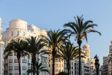 Fototapeta na wymiar Edificios de Valencia