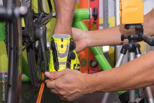 Fotografía  Fitting bike fillter foot pain