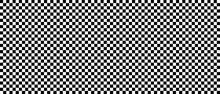 Schwarz Weißes Karomuster