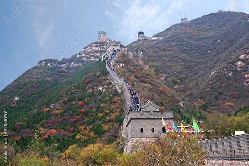 Papiers peints Muraille de Chine China the great wall at Juyong pass.