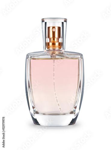 Perfume bottle isolated on white background Fototapete