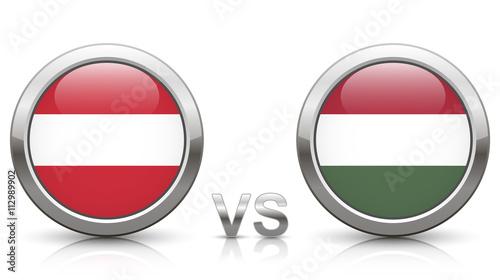Fotografiet  Austria vs. Hungary - EURO 2016 - Week 1