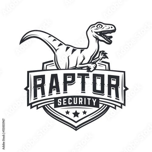 Fotografie, Tablou  Raptor sport logo mascot design